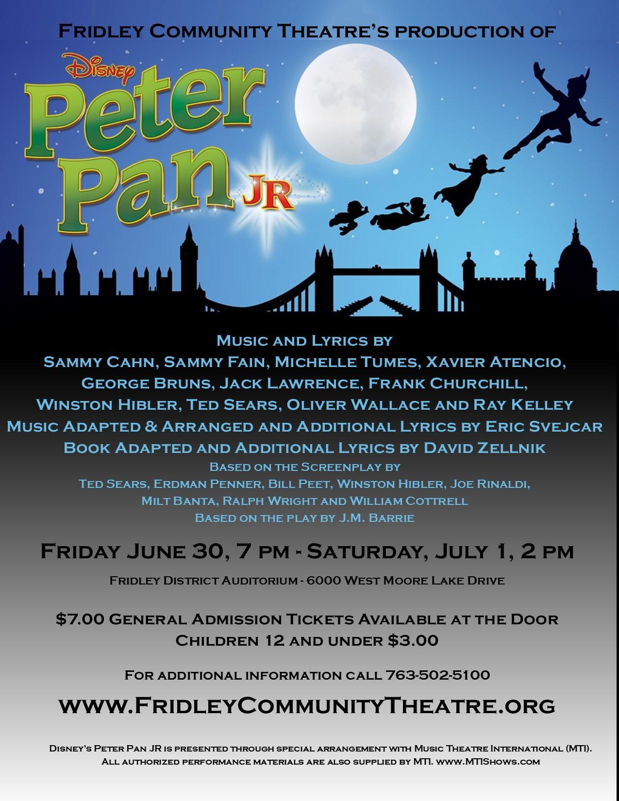 Peter Pan Flyer