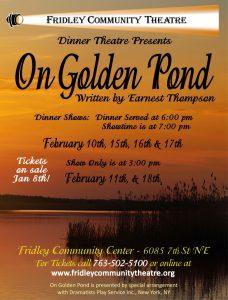 On Golden Pond flyer