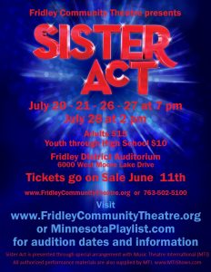 Sister Act Audition Announcement